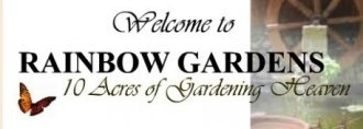 Logo tuincentrum Rainbow Gardens #1