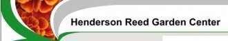 Logo tuincentrum Henderson Reed Garden Center