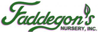 Logo tuincentrum Faddegon's Nursery