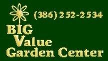 Logo tuincentrum Big Value Garden Center