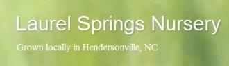 Logo tuincentrum Laurel Springs Nursery