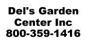 Logo tuincentrum Del's Garden Center