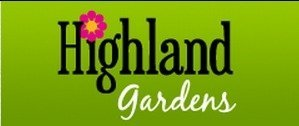Logo tuincentrum Highland Gardens