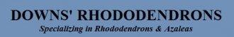Logo tuincentrum Downs' Rhododendrons Gardens