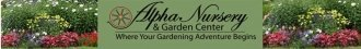 Logo tuincentrum Alpha Nursery & Garden Center