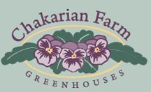 Logo tuincentrum Chakarian Farm Greenhouses