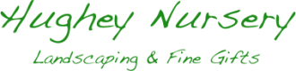 Logo tuincentrum Hughey Nursery & Landscaping
