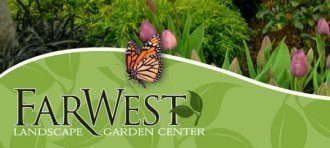 Logo tuincentrum FarWest Landscape & Garden Center