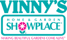 Logo tuincentrum Vinny's Home & Garden Showplace