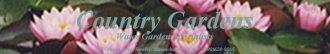 Logo tuincentrum Country Gardens Rowley
