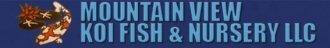 Logo tuincentrum Mountain View Koi Fish-nursery