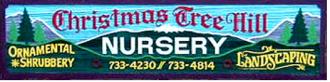 Logo tuincentrum Christmas Tree Hill Nursery