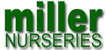Logo tuincentrum Miller Nurseries