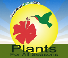 Logo tuincentrum Plants For All Seasons