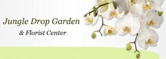 Logo tuincentrum Jungle Drop Garden Center