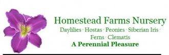 Logo tuincentrum Homestead Farm Nurseries