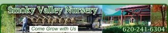 Logo tuincentrum Smokey Valley Nursery