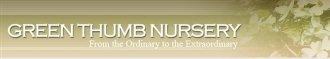 Logo tuincentrum Green Thumb Nursery