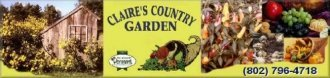 Logo tuincentrum Claire's Country Garden