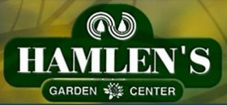 Logo tuincentrum Hamlen's Garden Center