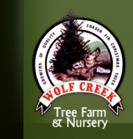 Logo Wolf Creek Tree Farm & Nursery