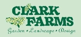 Logo tuincentrum Clark Farms Garden Center