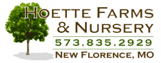 Logo tuincentrum Hoette Farms & Nursery
