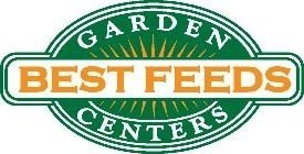 Logo tuincentrum Best Feeds Garden Centers