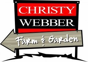 Logo tuincentrum Christy Webber Farm & Garden Center