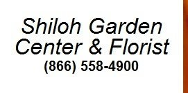 Logo tuincentrum Shiloh Garden Center & Florist