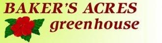 Logo tuincentrum Baker's Acres