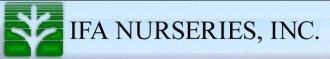 Logo tuincentrum Ifa Nurseries