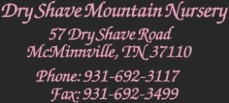 Logo Dry Shave Mountain Nursery