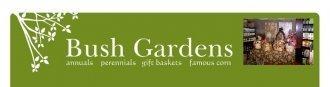 Logo tuincentrum Bush Gardens