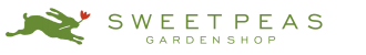 Logo tuincentrum Sweet Peas Garden Shop