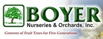Logo tuincentrum Boyer Nurseries & Orchards