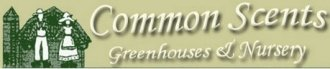 Logo tuincentrum Common Scents Greenhouses