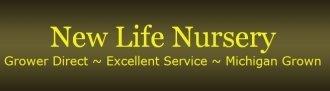 Logo tuincentrum New Life Nursery
