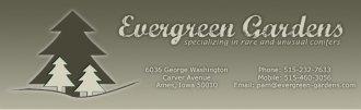 Logo tuincentrum Evergreen Gardens