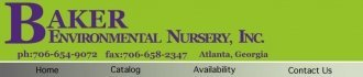 Logo tuincentrum Baker Environmental Nursery