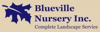 Logo tuincentrum Blueville Nursery Inc