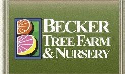 Logo tuincentrum Becker Tree Farm & Nursery