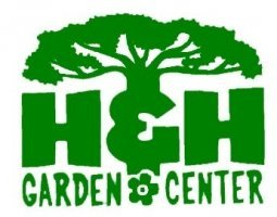 Logo tuincentrum H & H Garden Center
