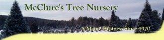 Logo tuincentrum Mc Clure's Tree Nursery