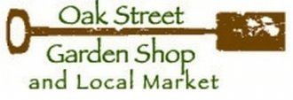 Logo tuincentrum Oak Street Garden Shop