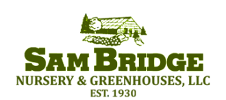 Logo tuincentrum Sam Bridge Nursery