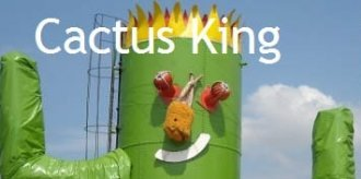 Logo tuincentrum Cactus King