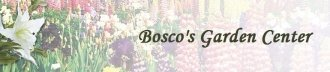 Logo tuincentrum Bosco's Garden Center & Landscpg