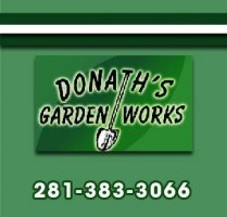 Logo tuincentrum Donath's Garden Works