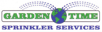 Logo tuincentrum Garden Time Sprinkler Svc